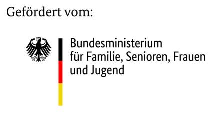 Logo Gefördert vom: BMFSFJ