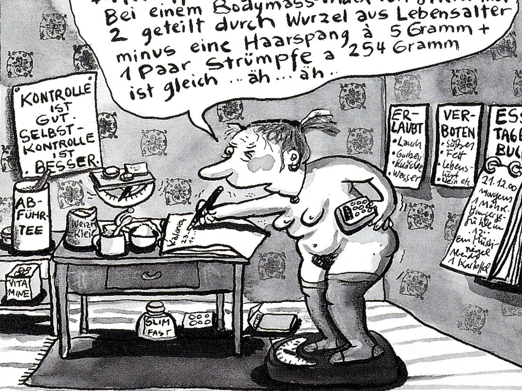 Comic von Franziska Becker